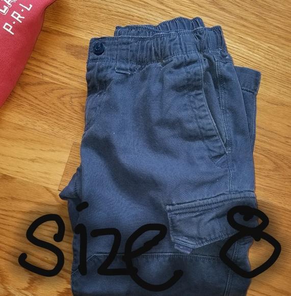 c9242a3ed08e96 Lands'end iron (double) knee boys cargo pants. M_5ae4d35ca4c4858e3a36afc6